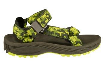 TEVA Hurricane 2 camo green Little Kid's River Sandals 013