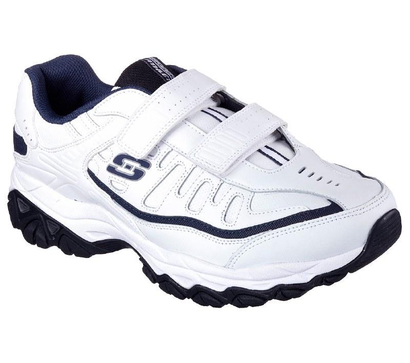 Skechers velcro Walking Shoes White