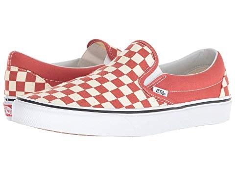 Vans Iconic Slip Ons Checkerboard Hot