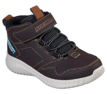 Skechers Hydrox Chocolate Kids Boots Waterproof011.
