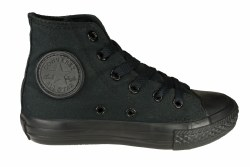 CONVERSE Chuck Taylor All Star Hi black monochrome Little Kids Casual Shoes 012.0