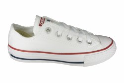CONVERSE Chuck Taylor All Star Ox optical white Little Kids Casual Shoes 011.0