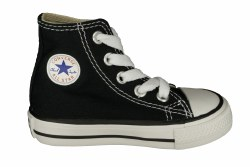 CONVERSE Chuck Taylor All Star hi black Toddlers Shoes 04.0
