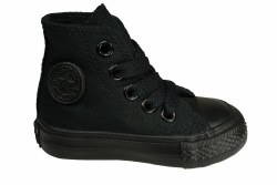 CONVERSE Chuck Taylor All Star hi black monochrome Toddlers Lifestyle Shoes 07.0