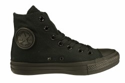 CONVERSE Chuck Taylor All Star hi black monochrome Unisex Classic Casual Shoes 04.0