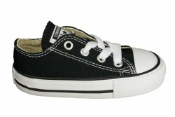 CONVERSE Chuck Taylor All Star ox black Toddlers Lifestyle Shoes 04.0
