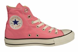 CONVERSE Chuck Taylor All Star Hi pink Unisex Casual Lifestyle Shoes 05.0
