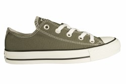 CONVERSE Cuck taylor All Star OX charcoal Unisex Classic Casual Shoes 04.0