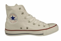 CONVERSE Chuck Taylor All Star hi optic white Unisex Classic Lifestyle Shoes 03.5