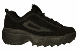 FILA Disruptor II triple black Mens Training Shoes 06.5