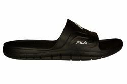 FILA SA58 black/black/white Mens Slide Sandals 08.0