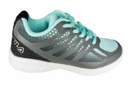 FILA Speedstride aruba blue/castlerock/black Little Kids Running Shoes 011.0