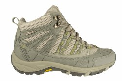 HI TEC Harmony Mid cool grey/celery Womens Waterproof Hiking Boots 10