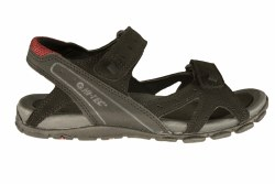 HI-TEC Laguna Strap black/charcoal/port Mens River Sandals 13.0