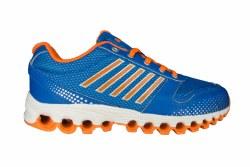 K-SWISS X-160 brilliant blue/safety orange Big Kids Running Shoes 5.0