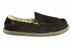 SANUK Kimbrrr black Women's Sidewalk Surfer 08