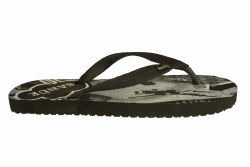 SANUK Quick Hit black Mens Flip-Flop Sandals 13