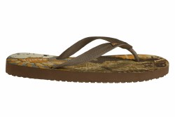 SANUK Quick Hits brown Mens Flip Flop Sandals 08