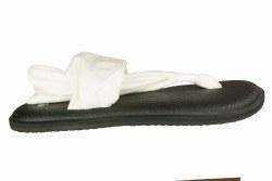 SANUK Yoga Sling 2 white Womens Sandals  07.0