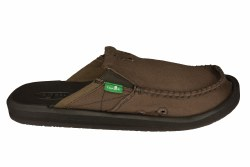 SANUK You Got My Back II brown Mens Sandals 09.0