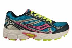 SAUCONY Grid Cohesion 7 blue/navy/citrus Big Kids Running Shoes 5