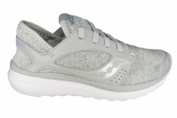 SAUCONY Kineta Relay grey/lavender Womens Running Shoes 08.5
