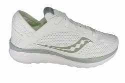 SAUCONY Kineta Relay white/grey Womens Running Shoes 07.5