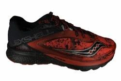 SAUCONY Kinvara 7 Runshield red/black/silver Mens Water Resistant Running Shoes 08.5