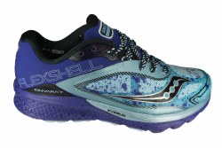 SAUCONY Kinvara 7 Runshield sky/blue/silver Womens Water Resistant Running Shoes 07.0