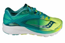 SAUCONY Kinvara 7 teal/citron Womens Running Shoes 07.0