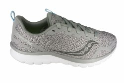 SAUCONY Liteform Feel grey/grey Womens Running Shoes 07.5