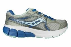 SAUCONY Mystic grey/blue/aqua Womens Running Shoes 06.5