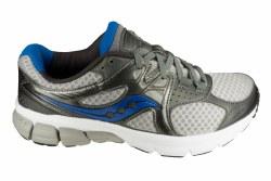 SAUCONY Mystic grey/royal Mens Running Shoes 09.5