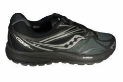 SAUCONY Ride 9 Reflex black/silver Mens Running Shoes 09.5