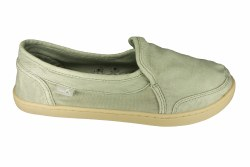 SANUK Pair O Dice olive Womens Casual Slip-On Shoes 07.5