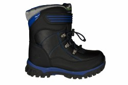 SKECHERS Arktic black/royal Big Kids Thermal Boots 6.0