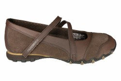 SKECHERS Bikers-Step Up toffee Womens Lifestyle Shoes 07.5