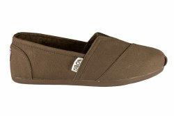 SKECHERS Bobs Plush-Peace and Love chocolate Womens Casual Slip-On Shoes flats 06