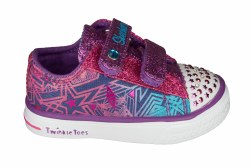 SKECHERS Twinkle Breeze-Comet Cutie denim/multi Toddlers Lifestyle Shoes 05.0