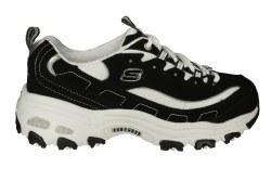 SKECHERS DLites-Biggest Fan wide black/white Womens Training Shoes 06.0