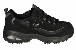 SKECHERS DLites-Biggest Fan wide black Womens Training Shoes 06.0