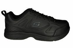 SKECHERS Dighton wide black Mens Work Shoes 07.0
