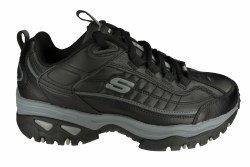 SKECHERS Energy-After Burn wide black Mens Training Shoes 07.5