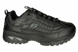 SKECHERS Energy-After Burn wide black Mens Training Shoes 10.5