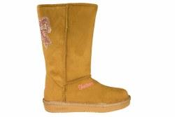 SKECHERS Twinkle Toes Glamslam-Bow Glow chestnut/multi Little Kids Boots 3.0