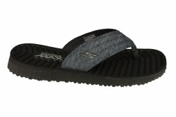SKECHER Go Flex-Southbay black Mens Sandals 13.0