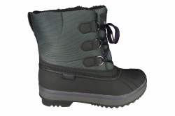 SKECHERS Highlander-Polar Bear black/charcoal Womens Boots 08.5