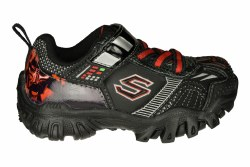 SKECHERS Star Wars-Damager III-Hypernova black/red/Darth Vader Toddlers Training Shoes 05.0
