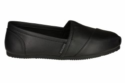 SKECHERS Kincaid II black Womens Work Shoes 06.0