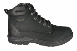 SKECHERS Segment-Amson black Mens Waterproof Boots 08.0